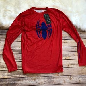 Under Armour men spider shirt size L